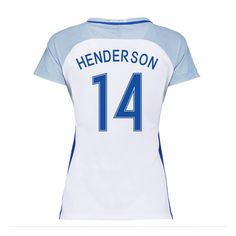 2016-17 England Home Womans Shirt (Henderson 14) #Sport #Football #Rugby #IceHockey