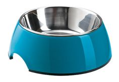 Hunter Melamine Dog Bowl - Petrol Blue
