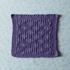 King Charles Free Dishcloth Pattern by Marjorie Dussaud