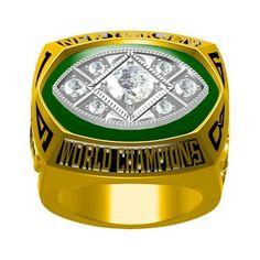 Custom 1968 III Jets Championship Ring
