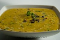 Dal Lucknowi: Dal delicatedly spiced and enriched with milk.