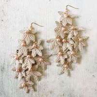 Crochet & Stitch Earrings, Sweet Affordable Jewelry
