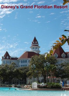Disney's Grand Floridian Resort - a beautiful luxury resort in the Magic Kingdom area of Disney World.  #grandfloridian #DisneyWorld
