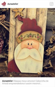 Art Painting Diy Christmas Ornament Ideas For 2019 Wooden Christmas Crafts, Christmas Yard Art, Christmas Signs Wood, Country Christmas, Holiday Crafts, Christmas Time, Christmas Ornaments, Theme Noel, Christmas Paintings