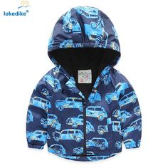 Дети Baby Boy Одежда 2016 Осень Ветрозащитный Double Deck Утолщаются Мультфильм Автомобиль Дети Пиджаки пальто Куртки Мальчиков Одежда T674 #hats, #watches, #belts, #fashion, #style