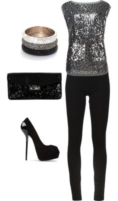 """New Year's Eve"" by wileyjessica ❤ liked on Polyvore"