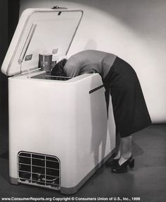 Home freezer in 1952