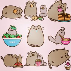 The many looks of Pusheen