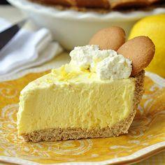 Old Fashioned Lemon Icebox Pie