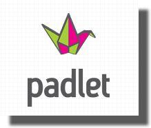 Crea muros de contenidos con Padle. Puedes usar Padle para colgar comentarios referentes a tu trabajo. Es un muro que podremos ver nosotros.