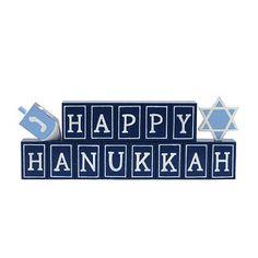 Happy Hanukkah Decor