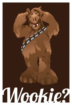 Wookie?   I can't picture Chewbacca eating a cat @TheWookieRoars