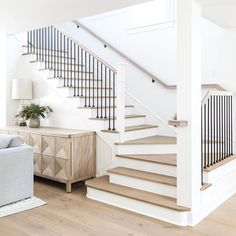 Treppe Organize Your Life.One Shoe at a Time How much time do you spend looking for a Left when yo House Staircase, Staircase Remodel, Staircase Design, Staircases, Modern Staircase Railing, Dream Home Design, House Design, Flur Design, Home Living Room