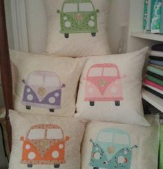 All the VW cushions