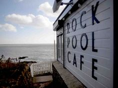 Rock Pool is in the most wonderful location on the beach in Mousehole ( pronouced mauzle) in Cornwall.  Eat at the cafe, buy their beautiful handmade Wellbeck tiles and of course their great Annie Sloan products