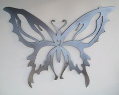 Hey, I found this really awesome Etsy listing at http://www.etsy.com/listing/121049964/butterfly-metal-sculpture-free-shipping