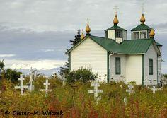 Russisch-Orthodoxe Kirche in Ninilchik