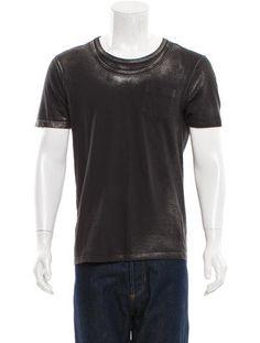 Distressed Metallic T-Shirt