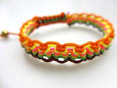 Creative friendship bracelet pattern -how to make a wavy friendship bracelet – Pandahall
