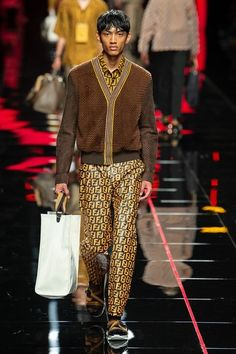 Fendi Spring 2019 Menswear Milan Collection - Vogue
