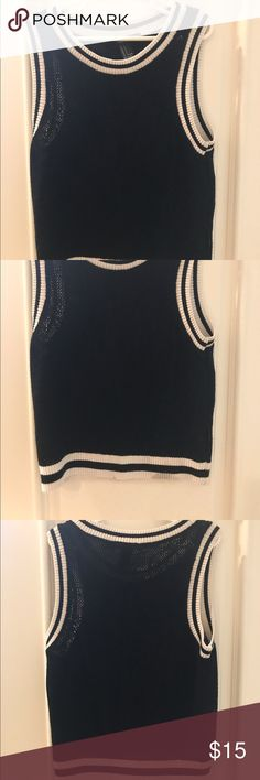 Forever 21 sweater vest Knitted sheer small Other