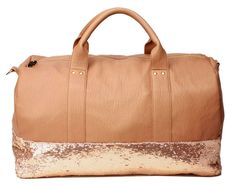 Sequin-Dipped Duffel, $137 | 27 Suitcases And Accessories That Ease The Pain Of Traveling