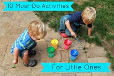 10 Must-Do Activities for Little Ones