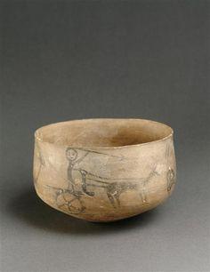 Tepe Giyan pottery - Lorestān province - Iran. Third - the early second millennium BC. | Louvre Museum