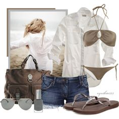 Summer Outfits | Beach Day | Fashionista Trends #outfit #verano 2014 #tendencias #barcelona #looks #trends