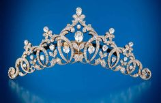 Diamond tiara set in platinum & gold, Tiffany & Co., 1894