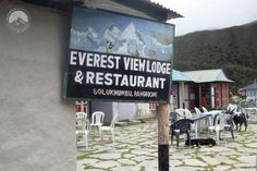 Everest View Lodge Pangboche Nepal, Mount Everest, Trek, Broadway Shows, Restaurant, Pictures, Diner Restaurant, Restaurants, Supper Club