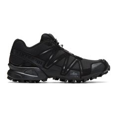 6fe4bedf9396cb 11 BY BORIS BIDJAN SABERI Black Salomon Edition Speedcross Sneakers.   11byborisbidjansaberi  shoes