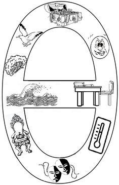 Το πιο ωραίο σχολειο είναι το Νηπιαγωγείο: Γράμματα εικόνες Greek Alphabet, Special Education, Homework, Worksheets, Symbols, Letters, Paintings, School, Blog