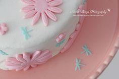 Fondant Dragonfly Cake
