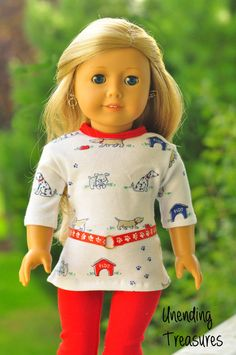 American Girl doll clothes 18 inch doll by Unendingtreasures, $17.00
