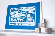 My Bundle of Joy-personalized cut paper art work for nursery