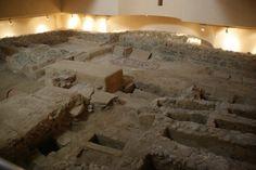 BASILICA TARDORROMANA DE CEUTA - Uno de los escasos testimonios del Cristianismo compuesto por recintos basilicales y necrópolis en el extremo occidental norteafricano