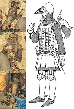 Terra Teutonica 1360-1440  Guardian   1380?   National Gallery of Art, Washington, USA   Drawing by Boris Gauda