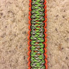 Picture of Paracord Weave - King Cobra paracord bracelet patterns #crafts #summer #camp