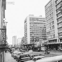 Av. Rio Branco, em junho de 1965 (foto autoria provável: Roberto Dornellas ou Jorge Couri).