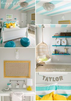 Honey-and-Fitz-Tween-Turquoise-Room - soooo many lovely details