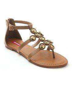 Look at this #zulilyfind! Tan Sublime Sandal by UNIONBAY #zulilyfinds
