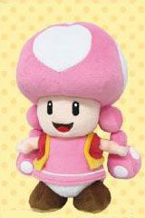 Super Mario ALL STAR COLLECTION Plush Toadette by Nintendo