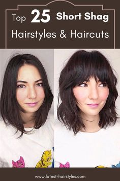 "Still looking for that short shag haircut inspiration? Latest-Hairstyles has 25 stylish short shag hairstyles & haircuts. Just click the image to see all. Photo credit: Instagram @jayne_edosalon #shortshaghaircuts #shaggyhairstyles"" Short Shag Hairstyles, Shaggy Haircuts, Latest Hairstyles, Hairstyles Haircuts, Daily Beauty Routine, Beauty Routines, Short Hair Cuts, Short Hair Styles, Fine Hair"