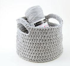 Crochet basket & lampshade (change language)