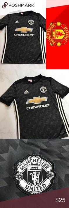 6b4ffe098 Manchester United Adidas Performance Tee NWOT NWOT! Genuine Adidas Manchester  United Performance Tee! Never