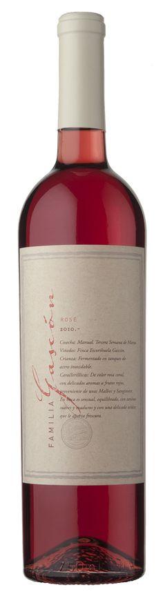 Familia Gascón Rosé Bottle, White Wine, Wine Bottles, Wine, Restaurants, Faith, Products, Flask, Jars