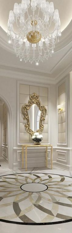 Marble entrance room