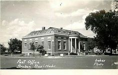 Broken Bow, Nebraska, Post Office...unknown date