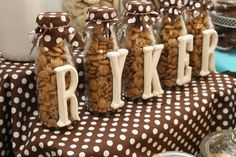 Cookies and Milk Birthday Party - love this